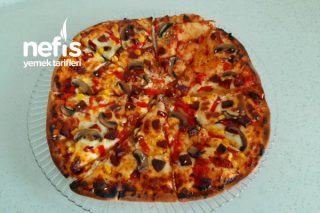 İki Kişilik Pizza Tarifi
