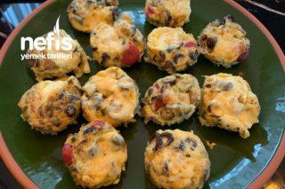 Kahvaltılık Yumurta Muffinleri Tarifi