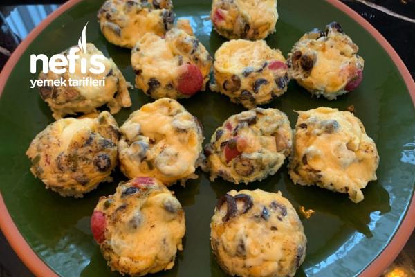 Kahvaltılık Yumurta Muffinleri