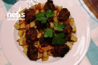 Pratik Lokmalık Köfte Patates Kızartması Tarifi