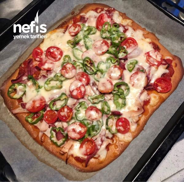 Proteinli Glütensiz Pizza