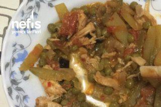 Tavuk Göğüslü Sebzeli Yemek Tarifi