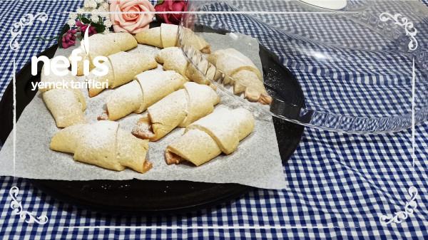 Yiyen Bir Daha İsteyecek! Tam Ölçülü Kıyır Kıyır Pastane Usulü Elmalı Kurabiye