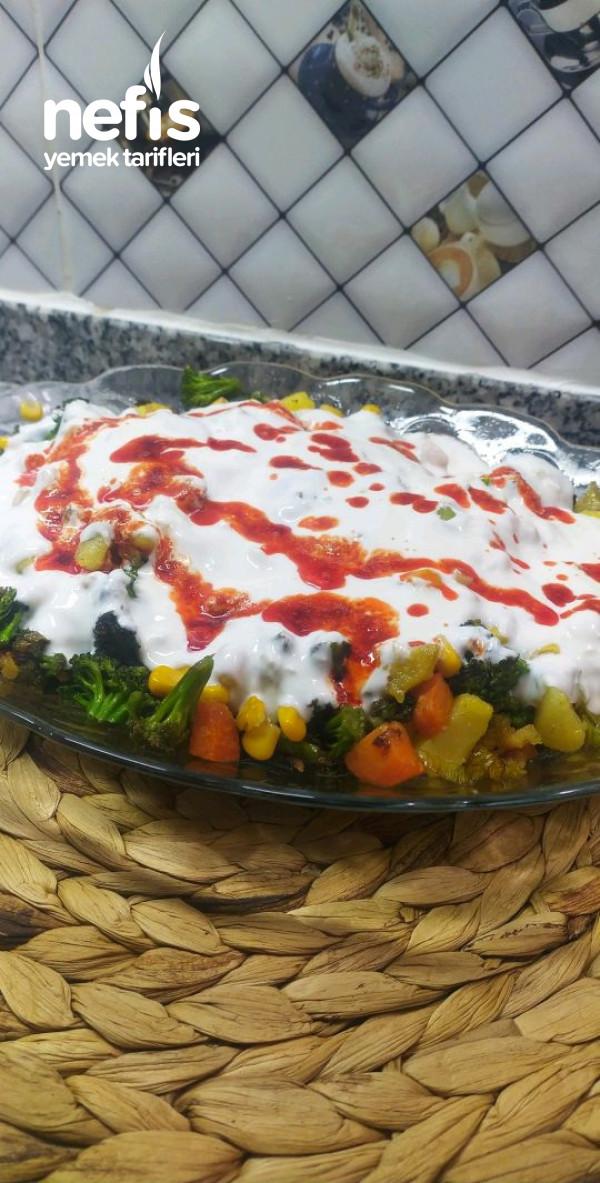 Brokoli Kızartması (Yoğurtlu)