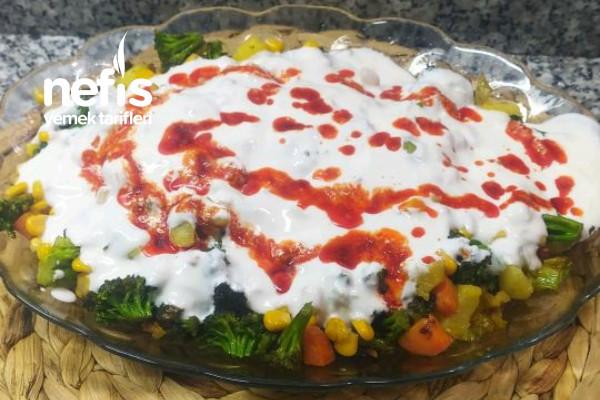 Brokoli Kızartması (Yoğurtlu) Tarifi