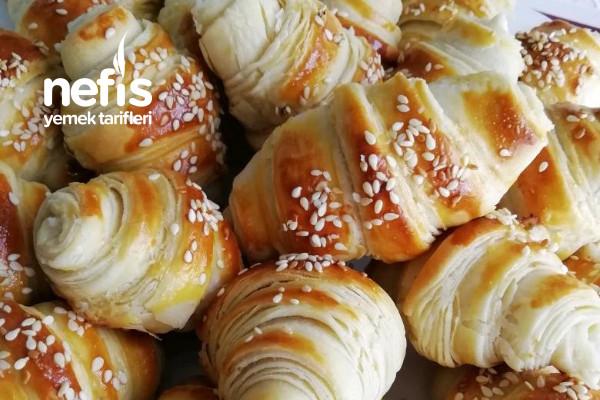 Hamuru Sizden Nefis Katmer Börek (Dışı Çıtır Çıtır İçi Yumuşacık) Tarifi
