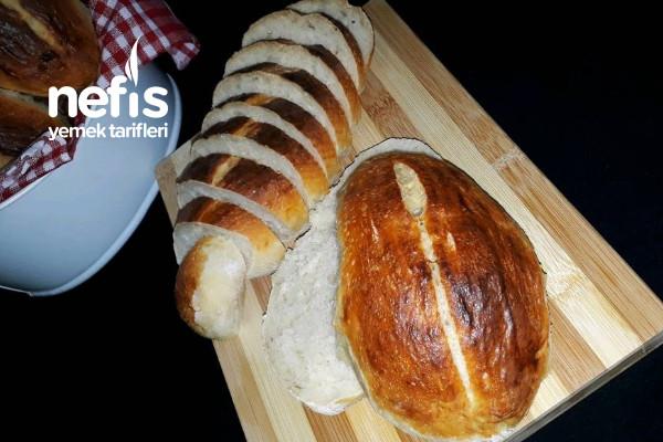 İçi Yumuşacık Dışı Çıtır Çıtır Ev Yapımı Ekmek Tarifi