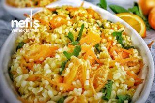 Mandalinalı Bulgur Salatası Tarifi