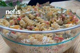 Makarna Salatası (Nudelsalat) Tarifi