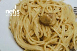 Tavuklu Kremalı Spagetti Tarifi