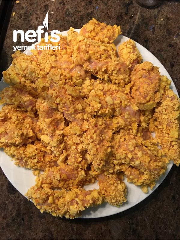 Çıtır Tavuk Ve Fırında Baharatlı Patate