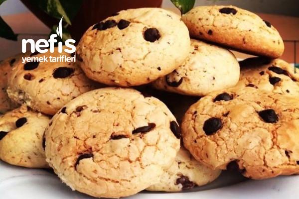 Damla Çikolatalı Kurabiye (Sıvı Yağlı Margarin Yok) Tarifi
