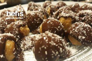 Elmalı Çikolatalı Toplar Tarifi