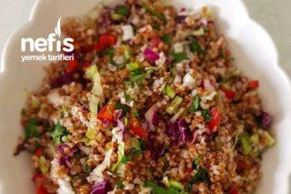 Esmer Bulgur Salatası Tarifi
