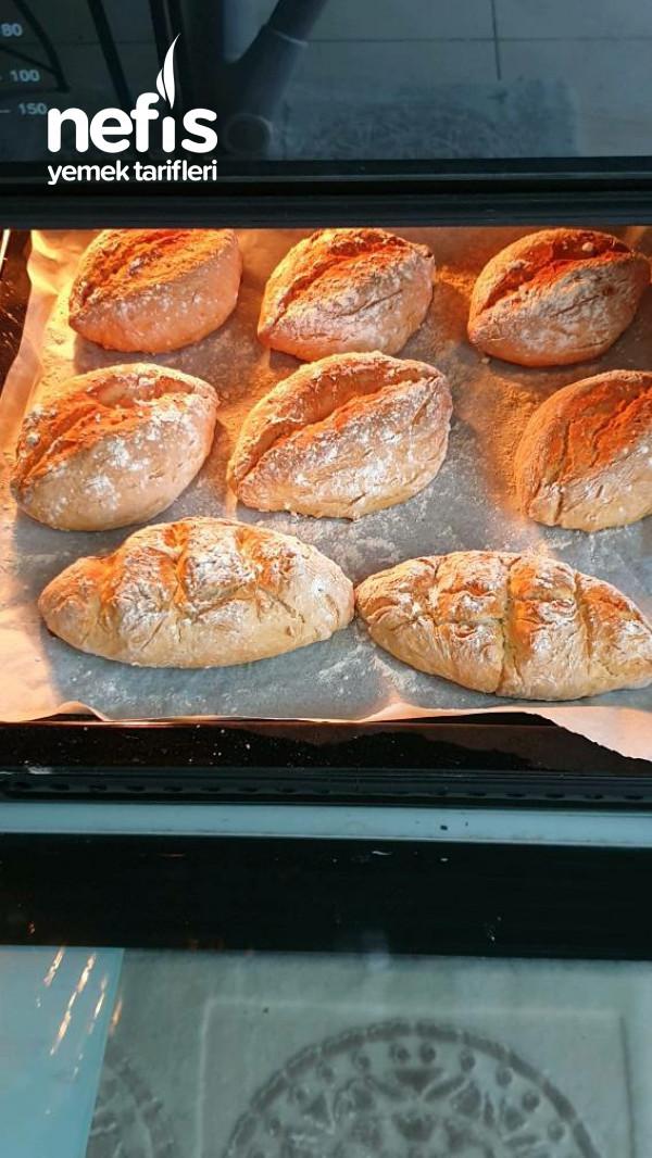 Evde Minik Ekmek Yapımı