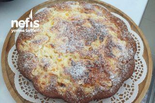 Labneli Şeftalili Kek (Cheesecake Tadında) Tarifi