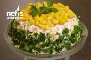 Rus Salatası (Borcamda Servisten Sıkılanlara ) Tarifi