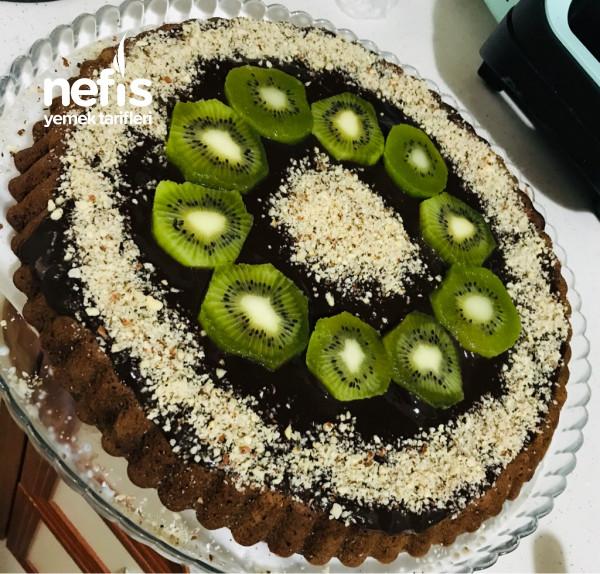 Tart Kalıbında Çikolatalı Pasta