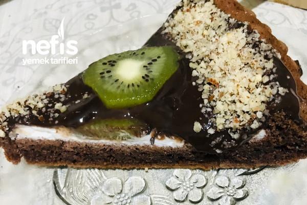 Tart Kalıbında Çikolatalı Pasta Tarifi