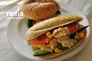 Ton Balıklı Cipsli Sandwich Tarifi