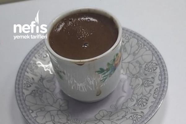 Türk Kahvesi Şekerli (Bol Köpüklü) Tarifi