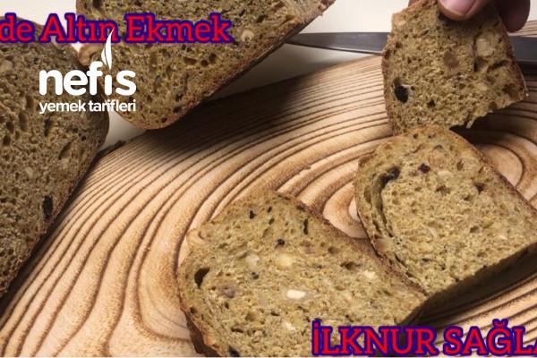 Altın Ekmek Tarif İstanbul Halk Ekmeğin Altın Ekmeğini Evde Kendiniz Yapın (Videolu) Tarifi