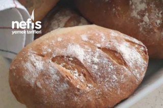 Çıtır Ev Ekmeği Tarifi