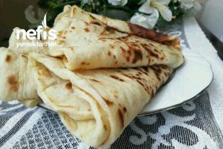 Enfes Lezzeti Olan Tel Tel Dökülen Gözleme Sac Ekmeği Tarifi (Videolu)