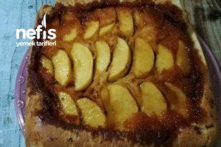 Karamelli Elmalı Tarçınlı Kek Tarifi