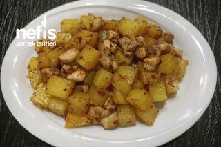 Tavuklu Patates (Kavurma) Tarifi