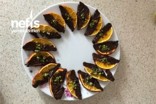 Çikolatalı Kurutulmuş Portakal Tarifi