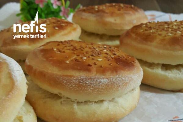 İddialı Enfes Hamburger Ekmeği (Lezzet Garantili)