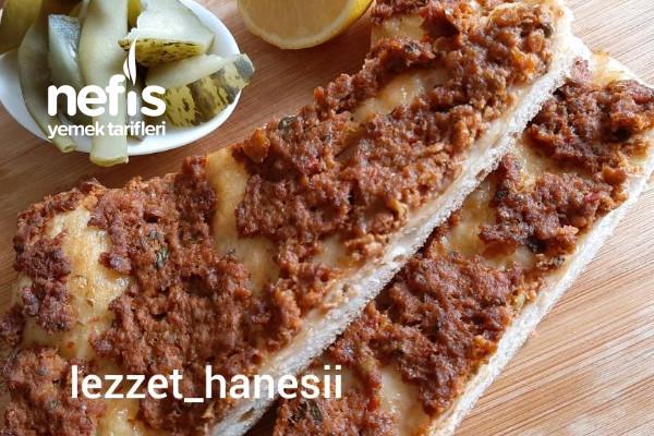Lahmacun Pizza Tarifi