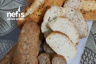 Mis Gibi Yumuşak Ama Çıtır Çıtır Ev Yapımı Ekmeğimiz Tarifi