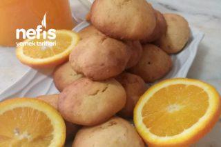 Portakallı Ve Zencefili Kurabiye Tarifi