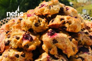 Vişneli Cookies Tarifi