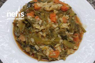 Zeytinyağlı Pirinçli Ispanak Kökü Tarifi