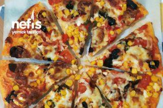 Annemin Soslu Pizzası Tarifi