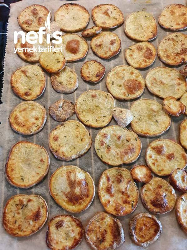 Fırında Çıtır Patates Cipsi
