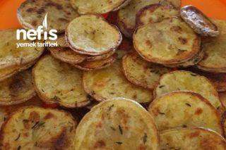 Fırında Çıtır Patates Cipsi Tarifi