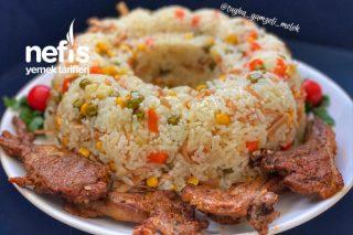 Garnitürlü Nefiss Pirinç Pilavı Tarifi