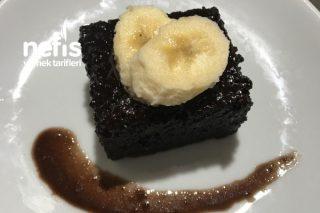 İçi Hafif Nemli Brownie Tadında Islak Kek Tarifi