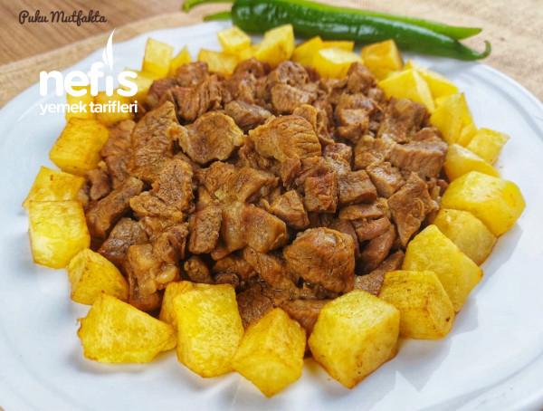 Lokum Kıvamında Tas Kebabı (Lokanta Usulü)