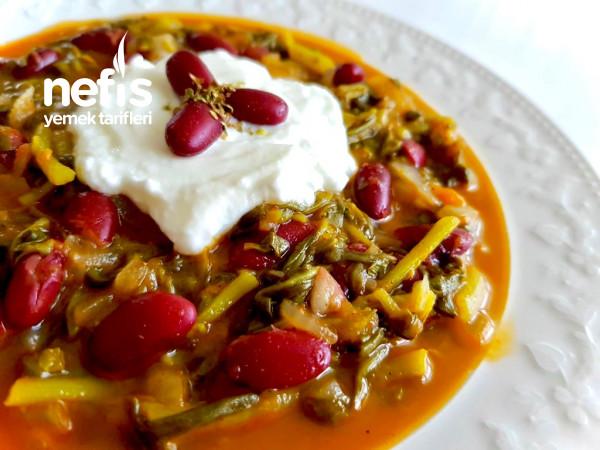 Meksika Fasulyeli Semizotu Yemeği