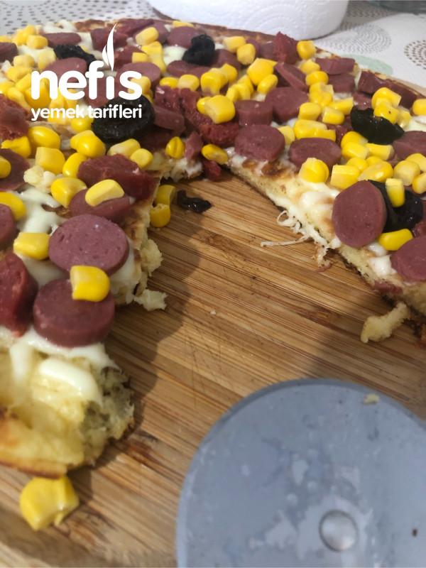 Omlet Hamurundan Pizza