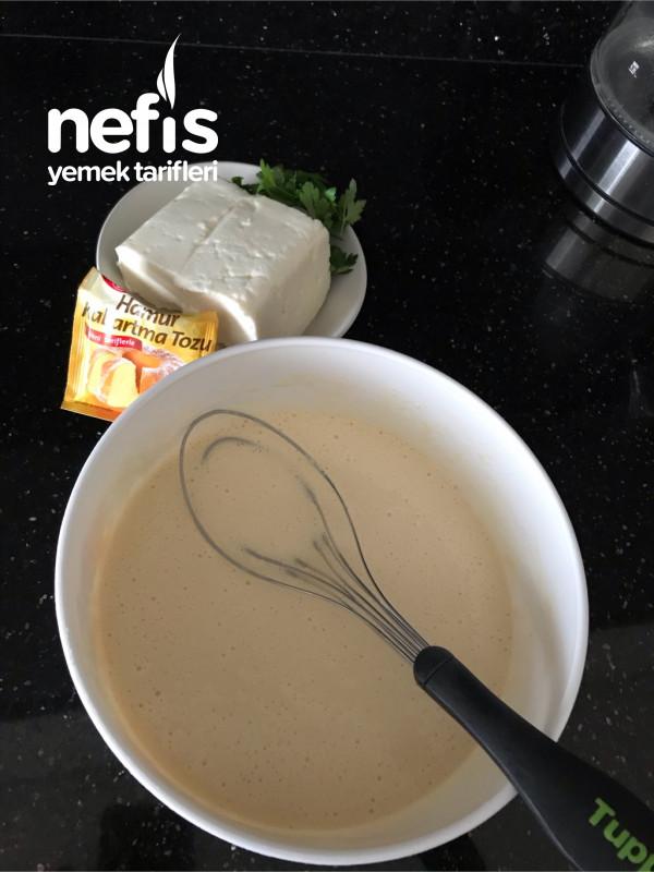Peynirli Pankek (Çook Leziz Ve Pratik Tam Ölçü)