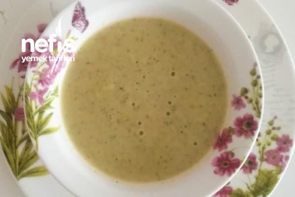 Brokoli Çorbasi (Kremalı Tadında) Tarifi