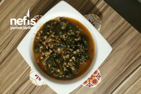 Mercimekli Bulgurlu Ispanak Çorbası (Vitamin Deposu) Tarifi