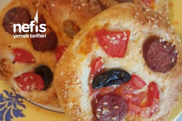 Mini Pizza Poğaça Tarifi