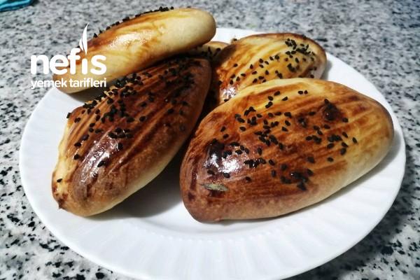 Peynirli Patatesli Ve Zeytinli Poğaça Tarifi